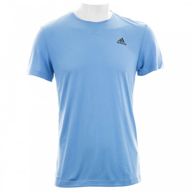 Adidas Performance Mens Essential Clima Lite T-Shirt (Blue)