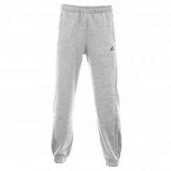 Adidas Performance Mens Essential Fleece Pants (Grey/Navy)