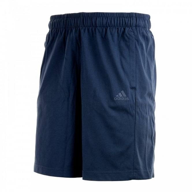 Adidas Performance Mens Essential Fleece Shorts (Navy)
