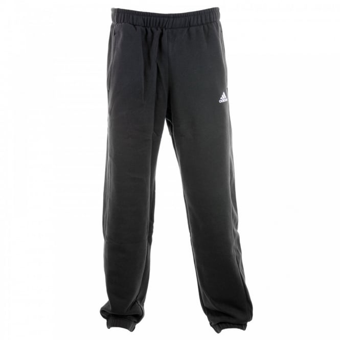 Adidas Performance Mens Essential Fleece Sweat Pants (Black/White)