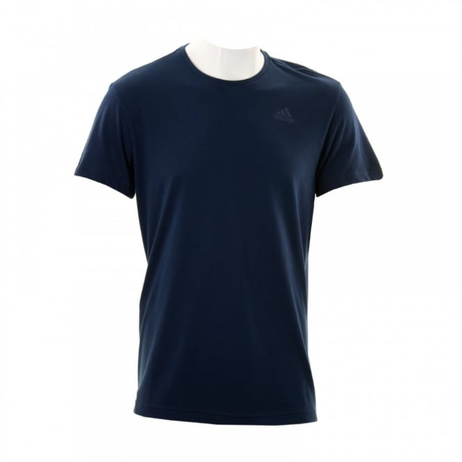 Adidas Performance Mens Essential T-Shirt (Core Navy)