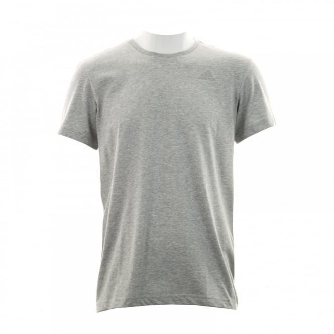 Adidas Performance Mens Essential T-Shirt (Grey)