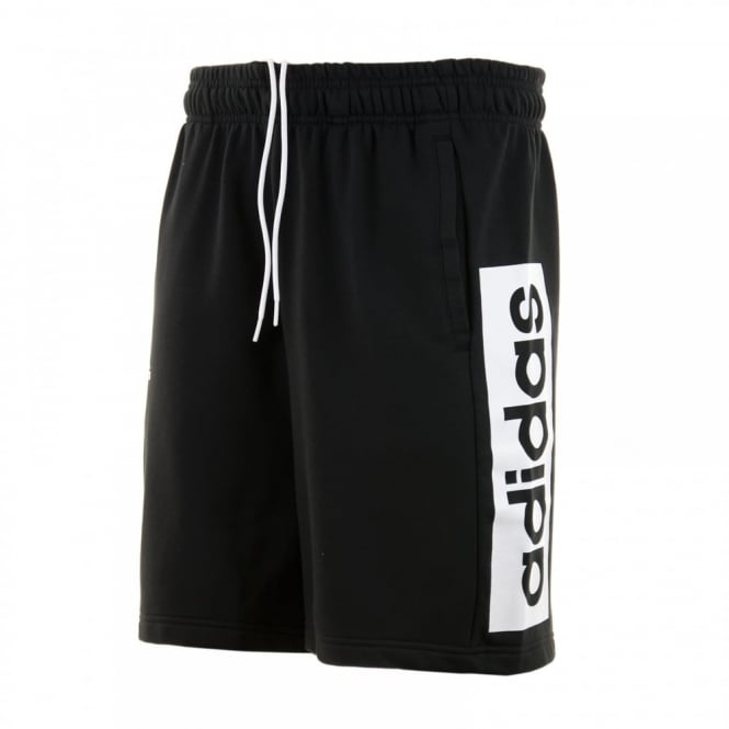 Adidas Performance Mens Linear 116 Shorts (Black/White)