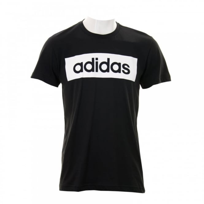 Adidas Performance Mens Linear T-Shirt (Black)