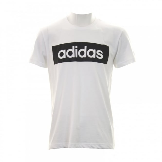 Adidas Performance Mens Linear T-Shirt (White)