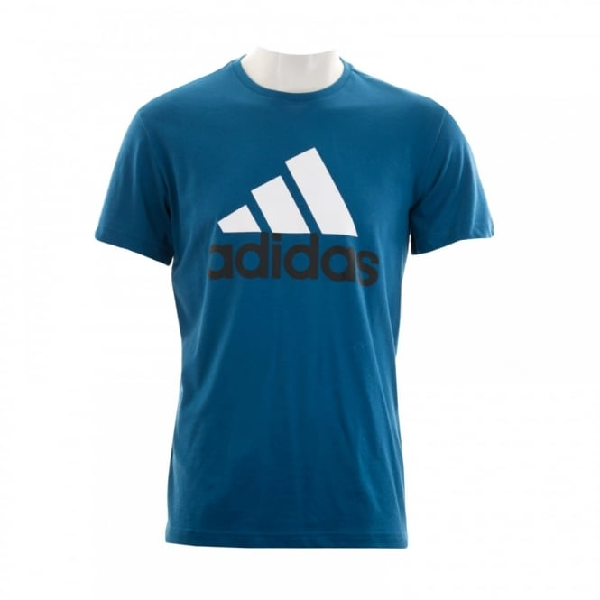 Adidas Performance Mens Logo 116 T-Shirt (Blue)