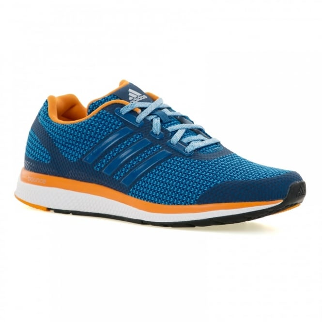 Adidas Performance Mens Mana Bounce 216 Trainers (Blue/Orange)