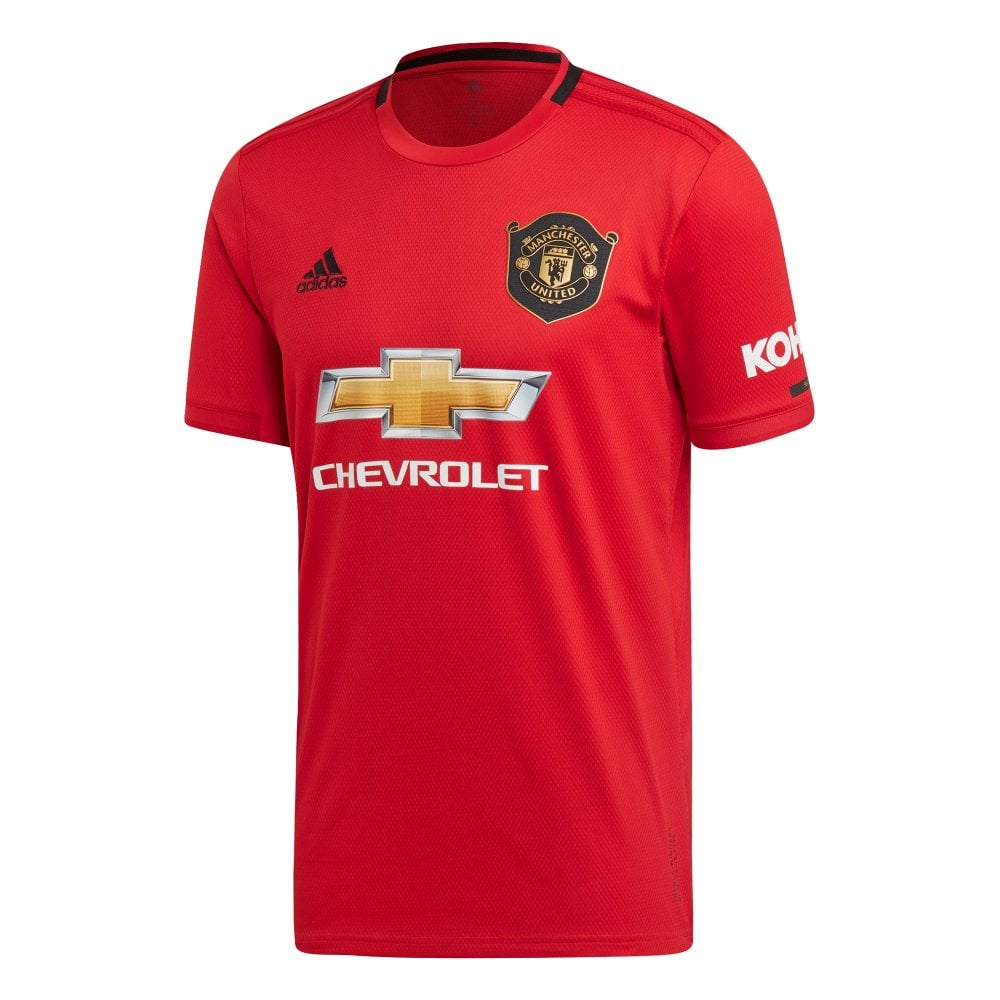 ADIDAS Performance Mens Manchester United 2019/2020 Home ...