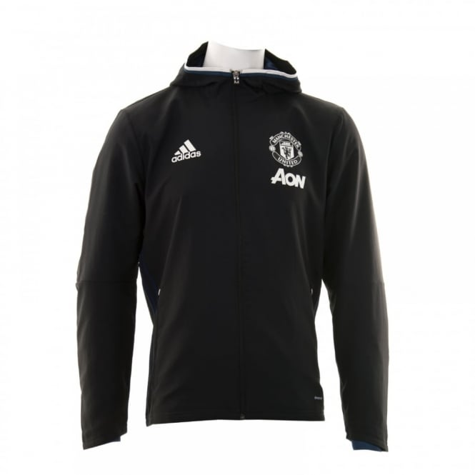 Adidas Performance Mens Manchester United Pre Match Jacket (Black)