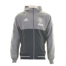 Adidas Performance Mens Manchester United Pre Match Jacket (Grey)