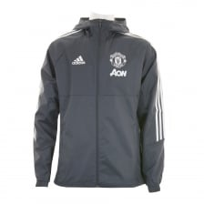 Adidas Performance Mens Manchester United Rain Jacket (Grey)