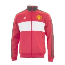 Adidas Performance Mens Manchester United Track Top (Red)