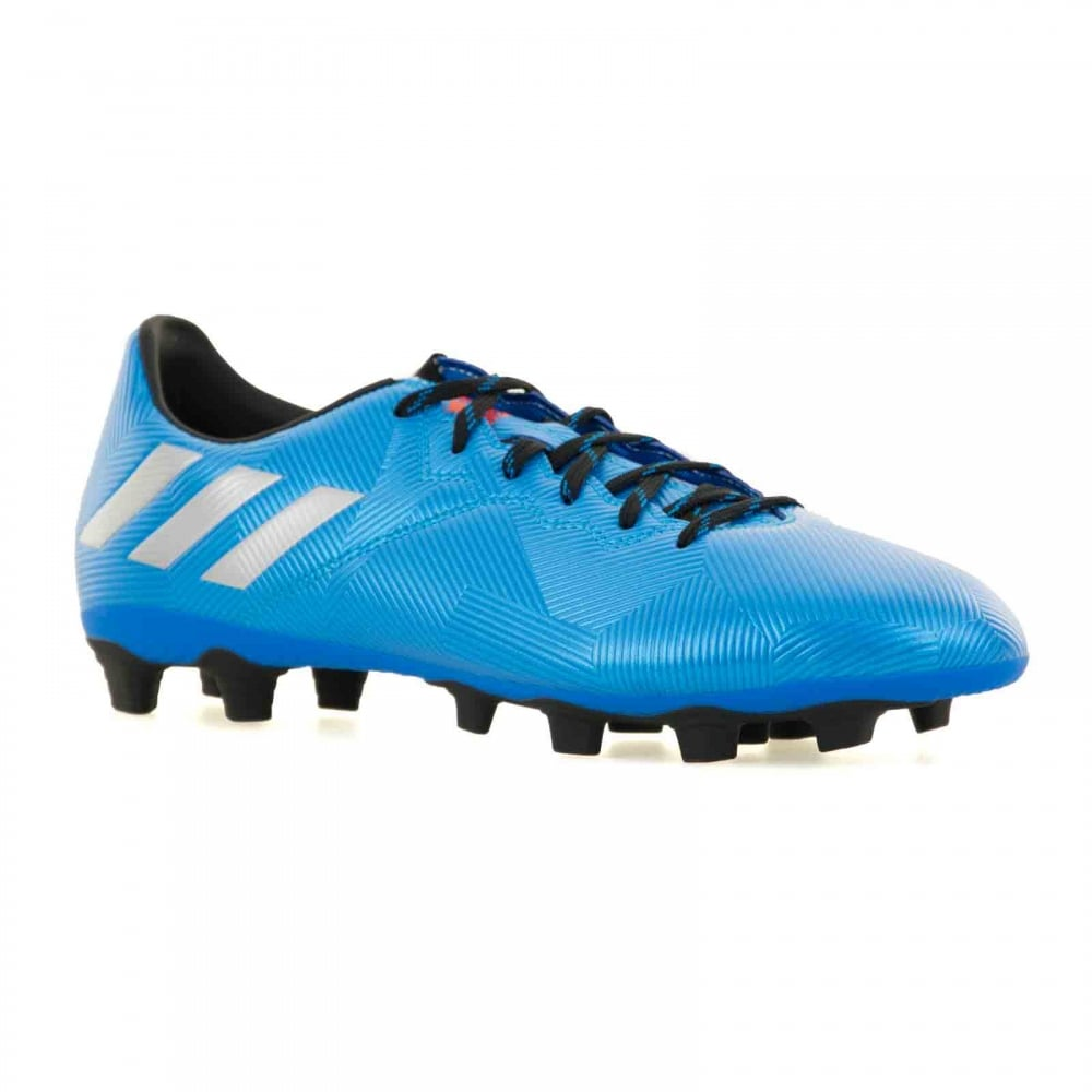 blue adidas boots