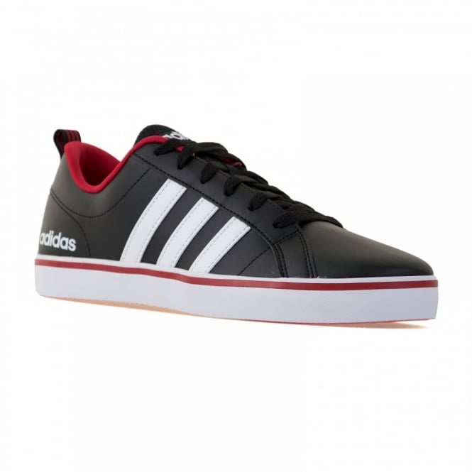 Adidas Performance Mens Neo Pace VS 216 Trainers (Core Black/White/Powder Red)