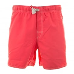 Adidas Performance Mens Short Swim Shorts (Red)