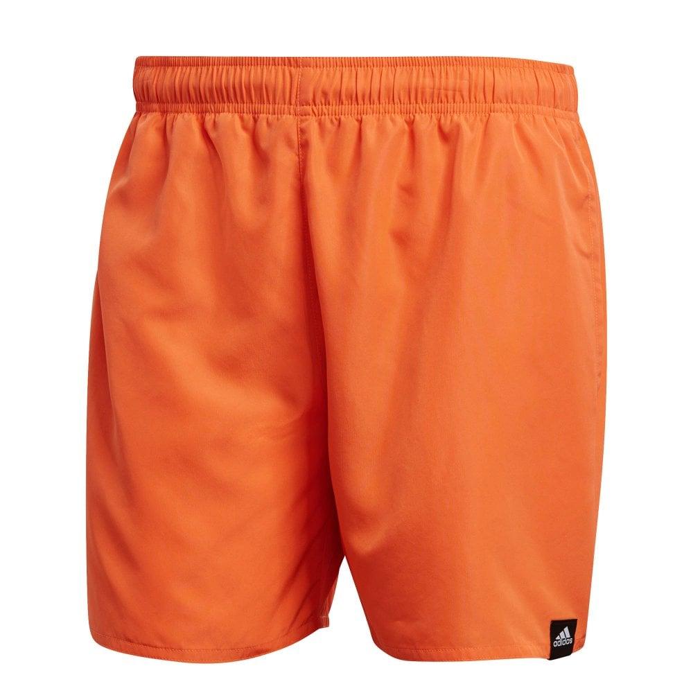 8a2304b889 ADIDAS Performance Mens Solid Short Swim Shorts (Orange) - Mens from ...