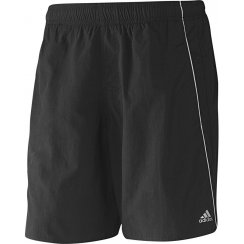 Adidas Performance Mens Solid Swim Shorts (Black)