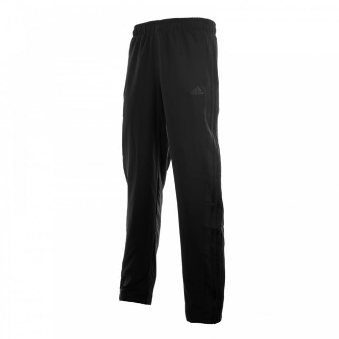 Adidas Performance Mens Three Stripe Woven Pants (Black)