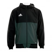 Adidas Performance Mens Trio 17 Hooded Jacket (Black)