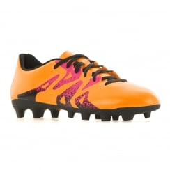Adidas Performance Mens X 15.4 FG Football Boots (Orange)