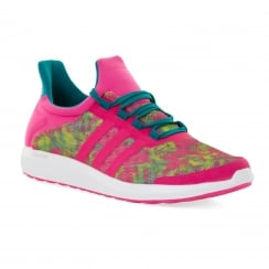 Adidas Performance Womens Cosmic 216 Trainers (Pink/Green)