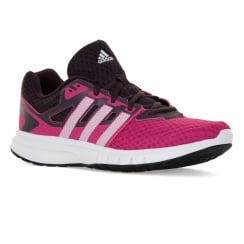 Adidas Performance Womens Galaxy 2 Trainers (Pink/White/Purple)