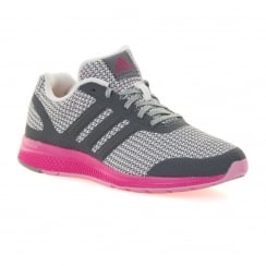 Adidas Performance Womens Mana Bounce 216 Trainers (Grey/Pink)
