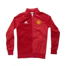 Adidas Performance Youths Manchester United Anthem Jacket 2016/2017 (Red)