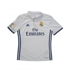 Adidas Performance Youths Real Madrid Home Shirt (White)