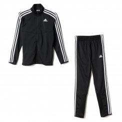 Adidas Performance Youths Tiro Knit Track Suit (Black/White)