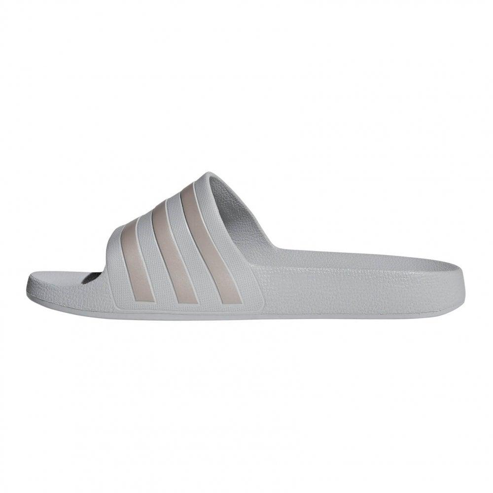 930fd8723 ADIDAS Unisex Adilette Aqua Slides (Grey) - Womens from Loofes UK
