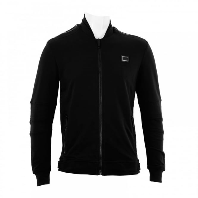 Antony Morato Mens Black Label Zip Sweat Top (Black)