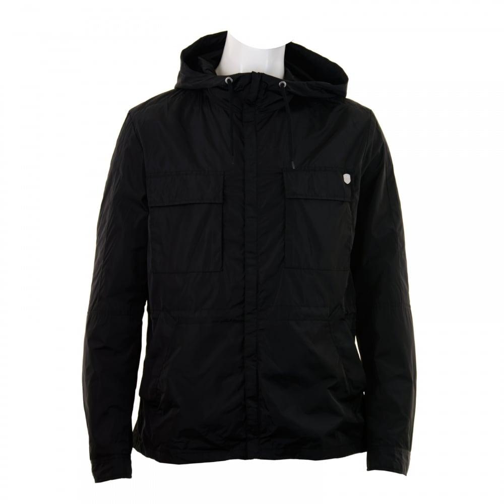 f047b9124 Antony Morato Mens Gold Label Hooded Coat (Black) - Mens from Loofes UK
