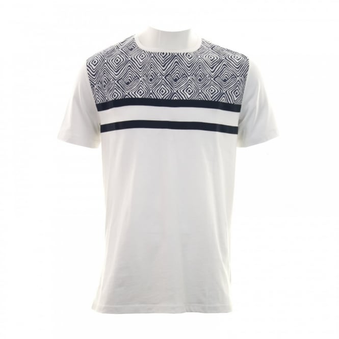 Antony Morato Mens Gold Label Pattern T-Shirt (White)