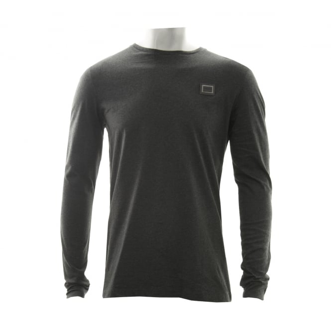 Antony Morato Mens Long Sleeve T-Shirt (Grey)