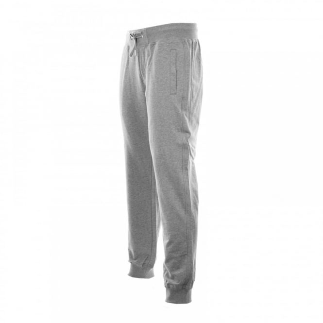 Antony Morato Mens Silver Badge Sweat Pants (Grey Melange)