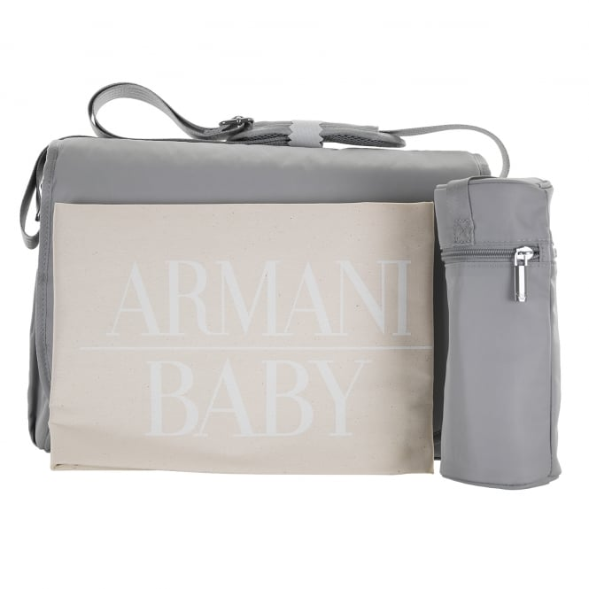 Armani Baby Changing Bag Grey Bags From Loofes Uk