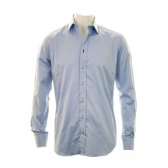 Armani Collezioni Mens Formal Shirt (Blue)