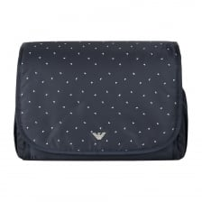 Armani Infants Eagle Print Changing Bag (Navy)