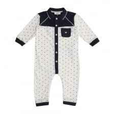 Armani Infants Romper Suit (White)