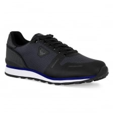 Armani Jeans Mens Low Cut Trainers (Black)
