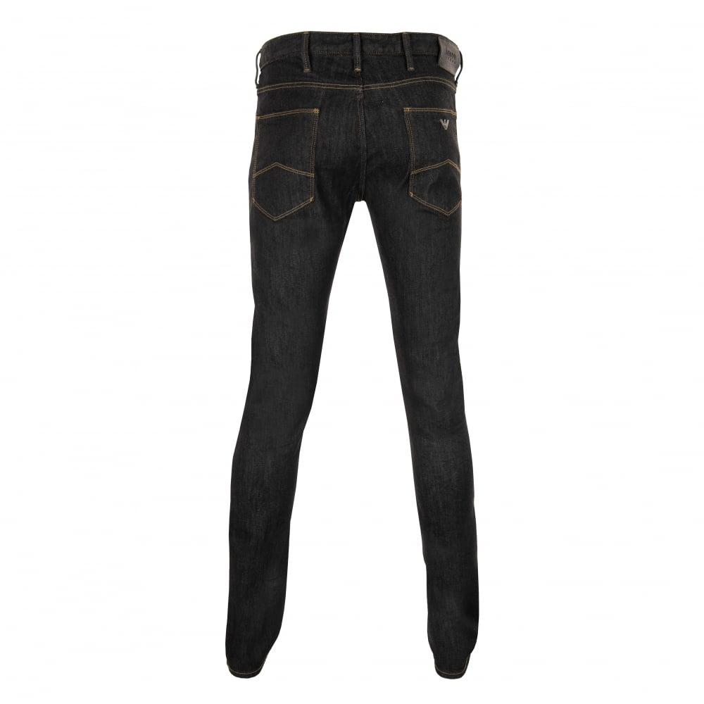 Armani Jeans Mens Slim Fit Jeans (Dark Denim) - Mens from Loofes UK 2155d7dd7608