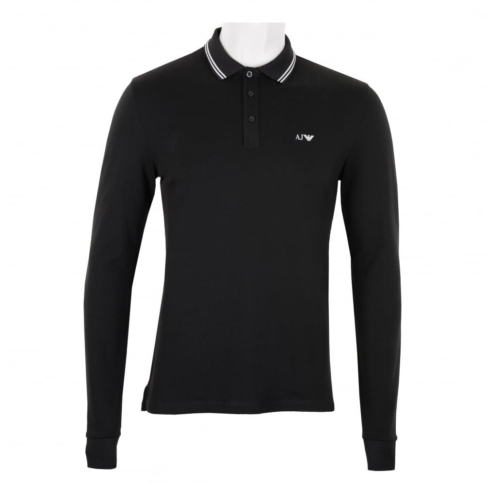 black armani shirt