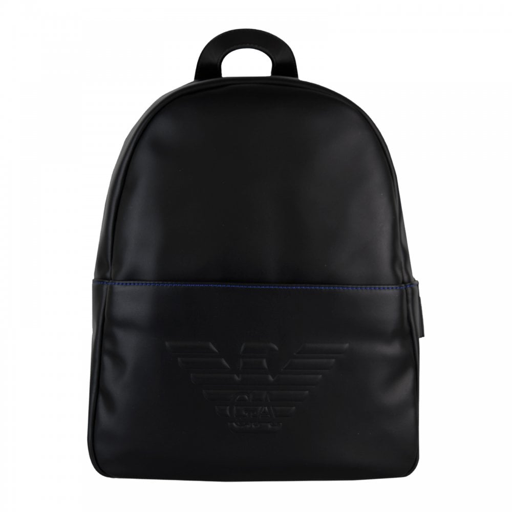 Armani Juniors Backpack (Black) - Bags from Loofes UK 4780c8dffb