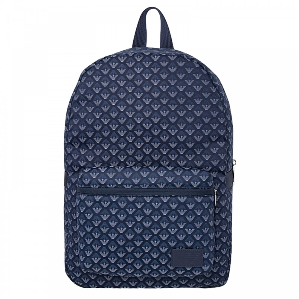 Armani Juniors Emporio Backpack (Navy) - Bags from Loofes UK 06caecc7f0