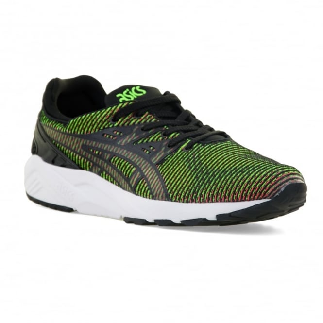 Asics Mens Gel Kayano Chamelion 316 Trainers (Gecko Green/Guava)