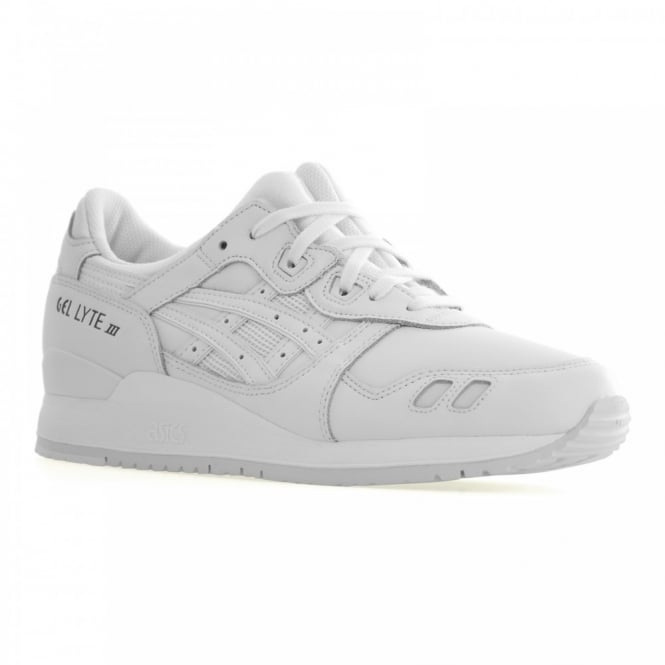 Asics Tiger Asics Mens Gel Lyte Leather 116 Trainers (White)