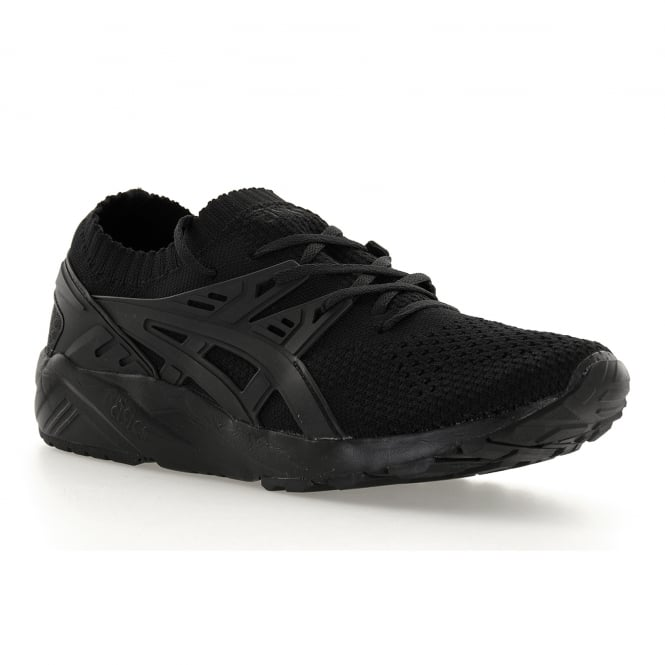 Asics Tiger Mens Gel Kayano Knit 117 Trainers (Black)