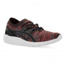 Asics Tiger Mens Gel Kayano Knit 317 Trainers (Carbon/Red)