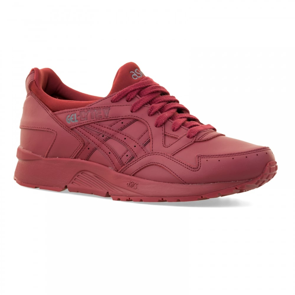 asics tiger gel lyte v burgundy